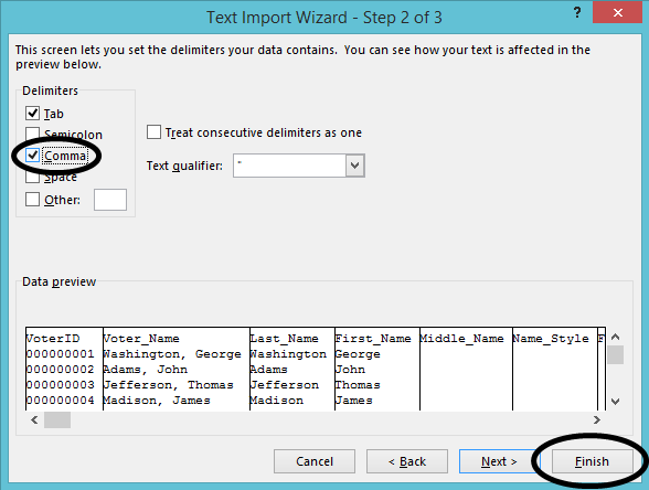 Importing Data Into Excel and Word